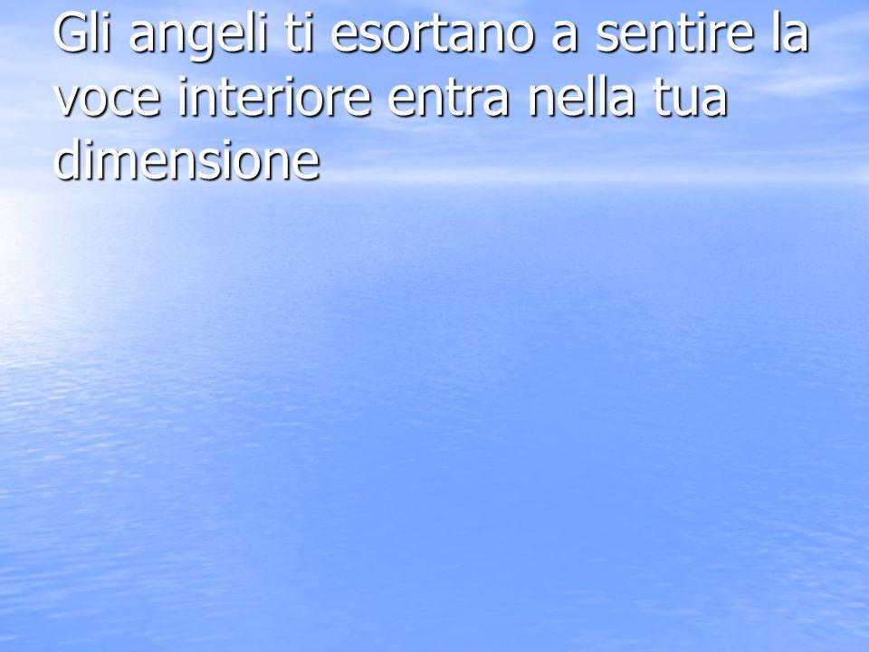Gli angeli ti esortano alla comprensione di se atraverso cio che sei