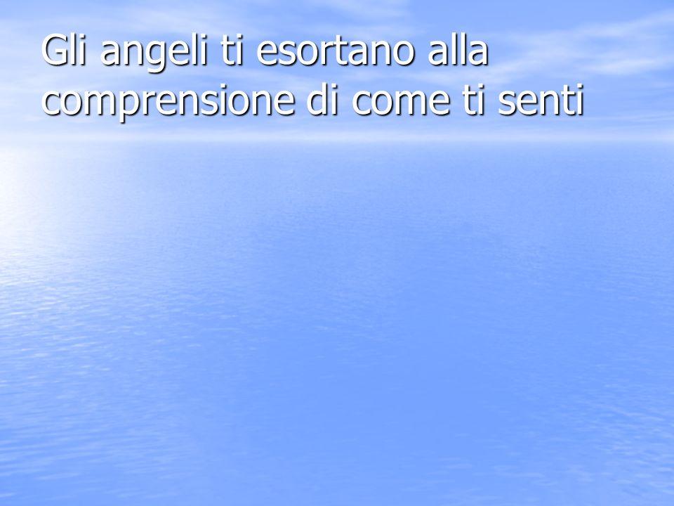 Gli angeli ti esortano al discernimento