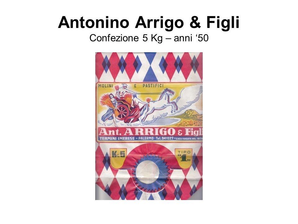 Antonino Arrigo & Figli Confezione 5 Kg – anni '50