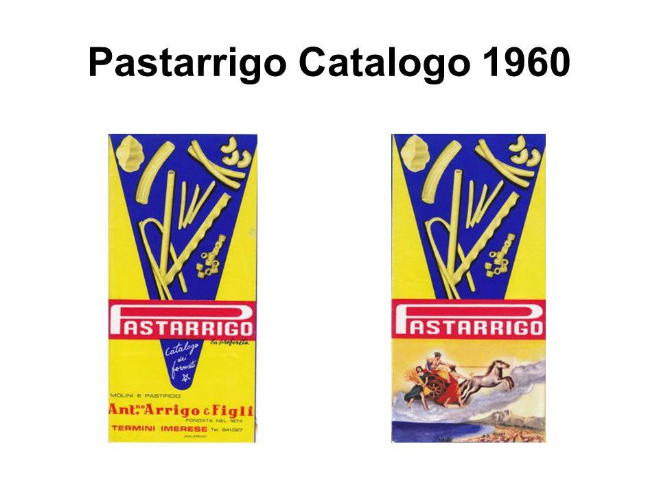 Pastarrigo Catalogo 1960
