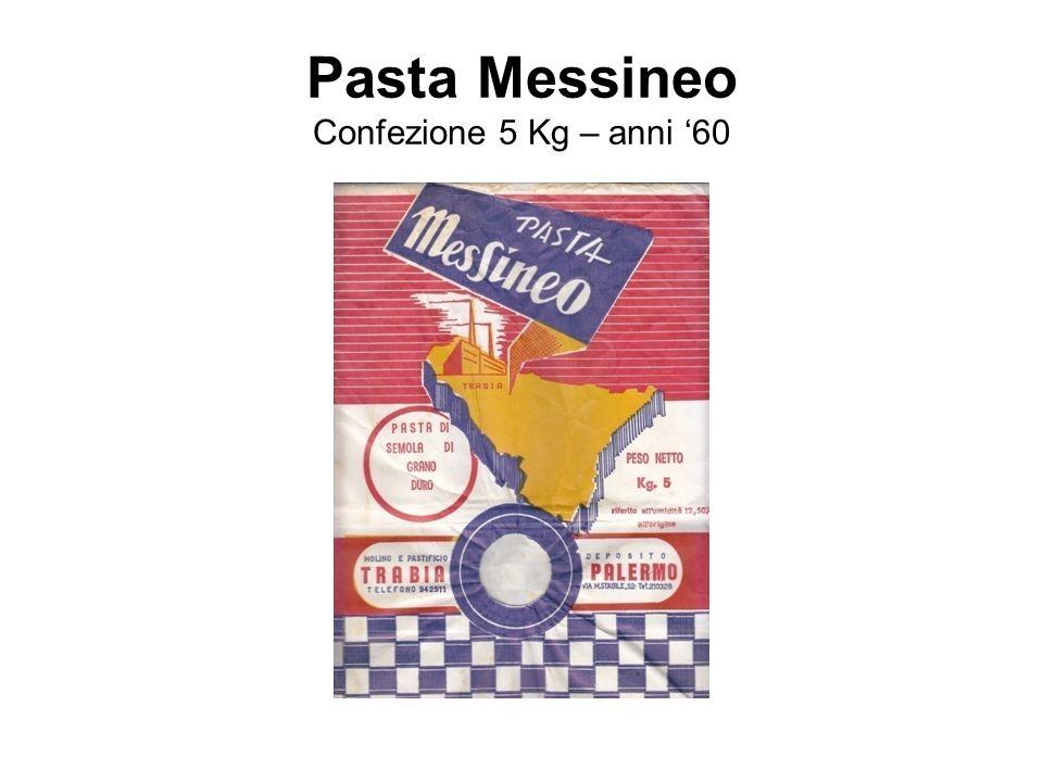 Pasta Messineo Confezione 5 Kg – anni '60