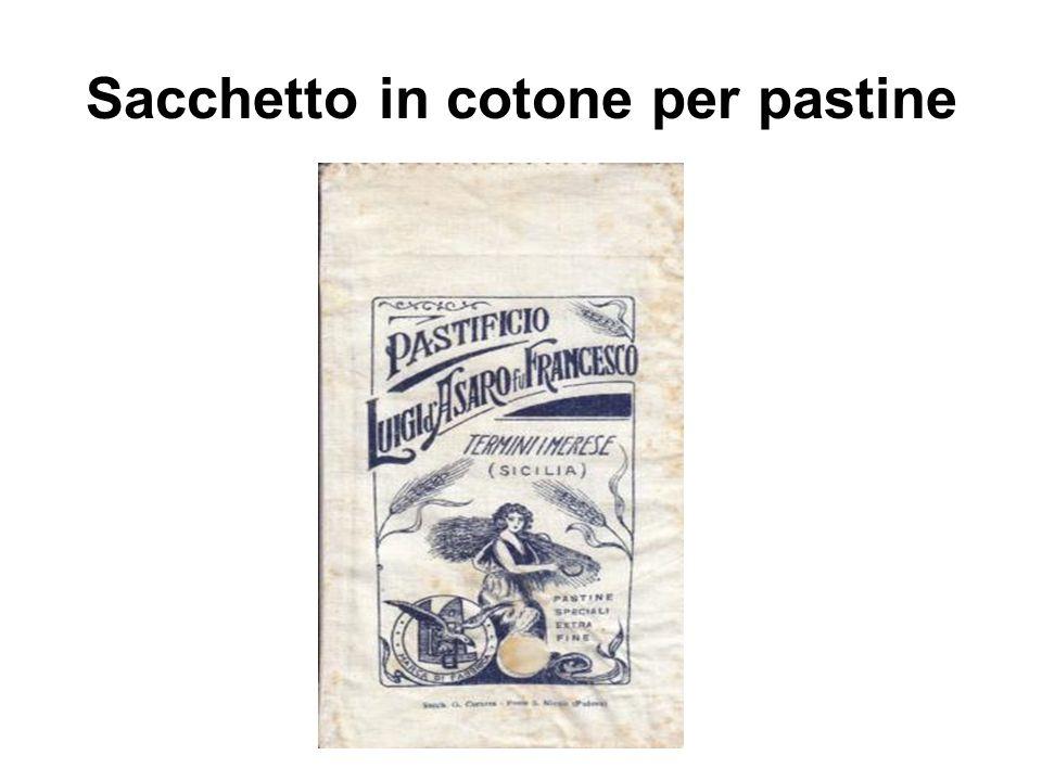 Sacchetto in cotone per pastine