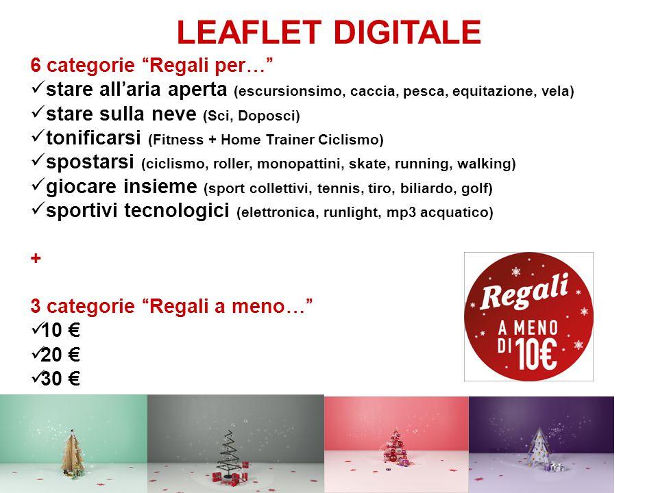 LEAFLET DIGITALE Le 6 prodotti eroe delle categorie Regali per…