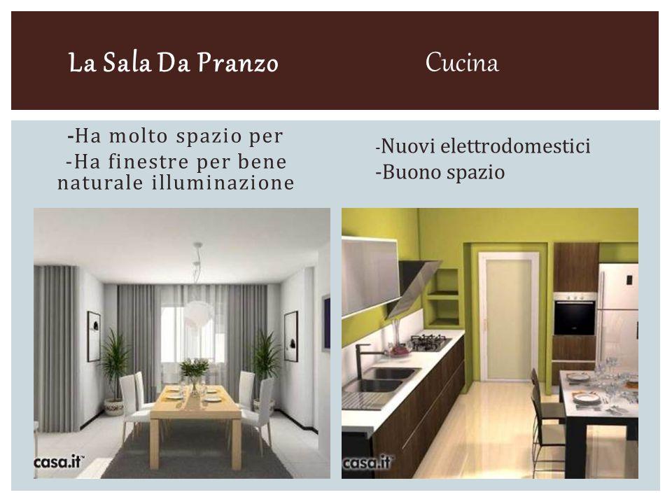 La Sala Da Pranzo - Ha molto spazio per -Ha finestre per bene naturale illuminazione Cucina - Nuovi elettrodomestici -Buono spazio