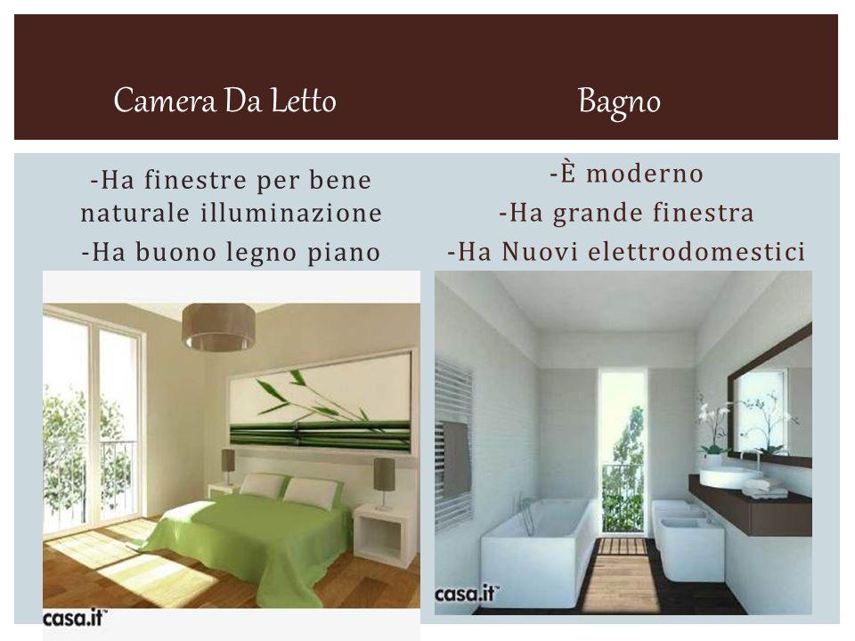 -La appartamento ha molti camere.-Tutte camere è grande.
