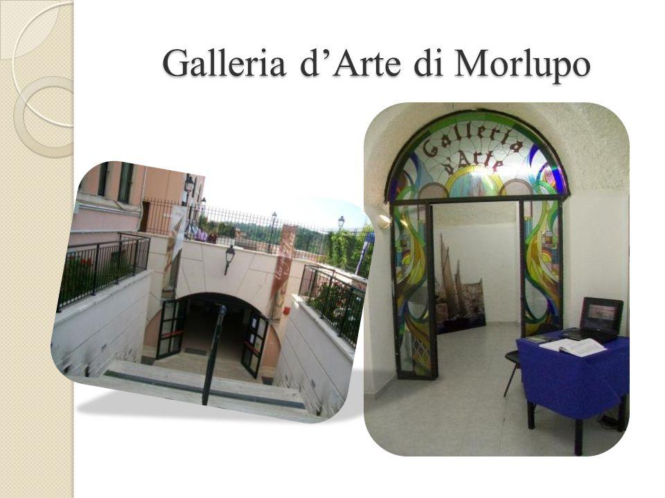 La Galleria d'Arte di Morlupo si trova in piazza Armando Diaz , e qui si è tenuta, dal 14 al 15 maggio 2011, la personale di romano tomassini Piazza Diaz