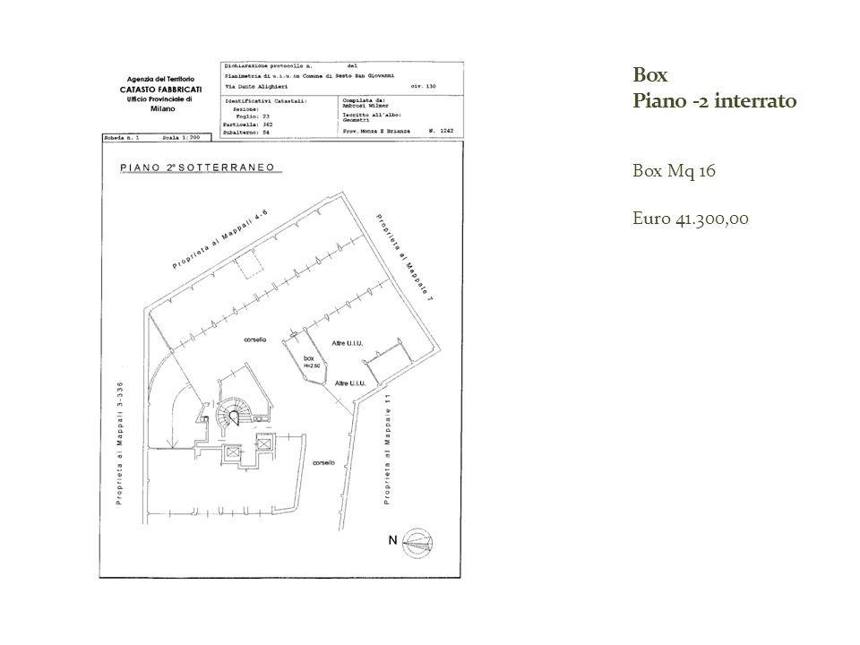 Box Mq 16 Euro 41.300,00