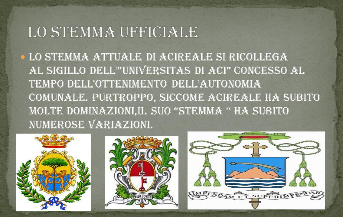 Acireale (Jaci-Riali o Jaci in siciliano) è un comune italiano di 52.792 abitanti della provincia di Catania in Sicilia. Di incerta origine, oggi l'im