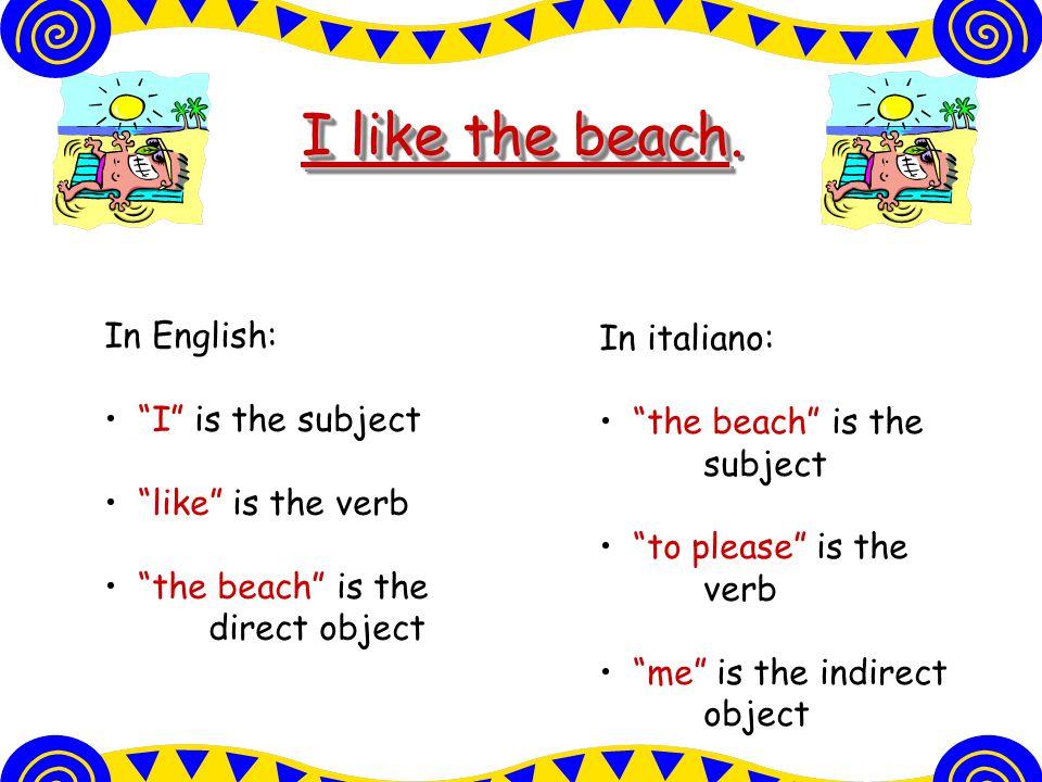 Come si dice? We like our teachers. Our teachers please us. i nostri professori. piacciono Ci