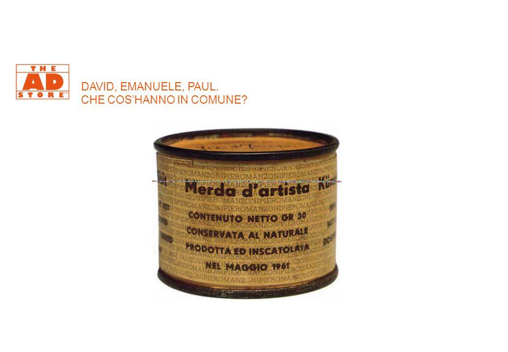 DAVID, EMANUELE, PAUL. CHE COS'HANNO IN COMUNE?