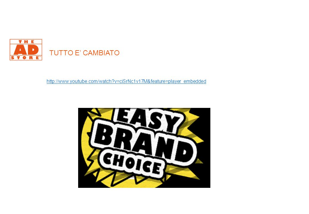 TUTTO E' CAMBIATO http://www.youtube.com/watch?v=ciSrNc1v17M&feature=player_embedded