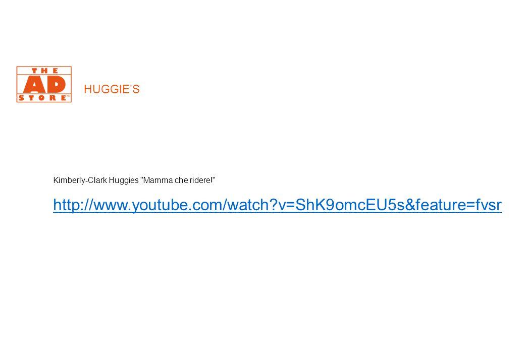HUGGIE'S Kimberly-Clark Huggies Mamma che ridere! http://www.youtube.com/watch?v=ShK9omcEU5s&feature=fvsr