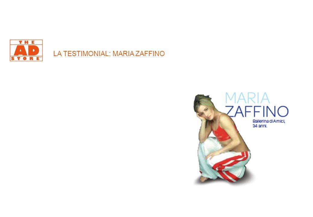 LA TESTIMONIAL: MARIA ZAFFINO