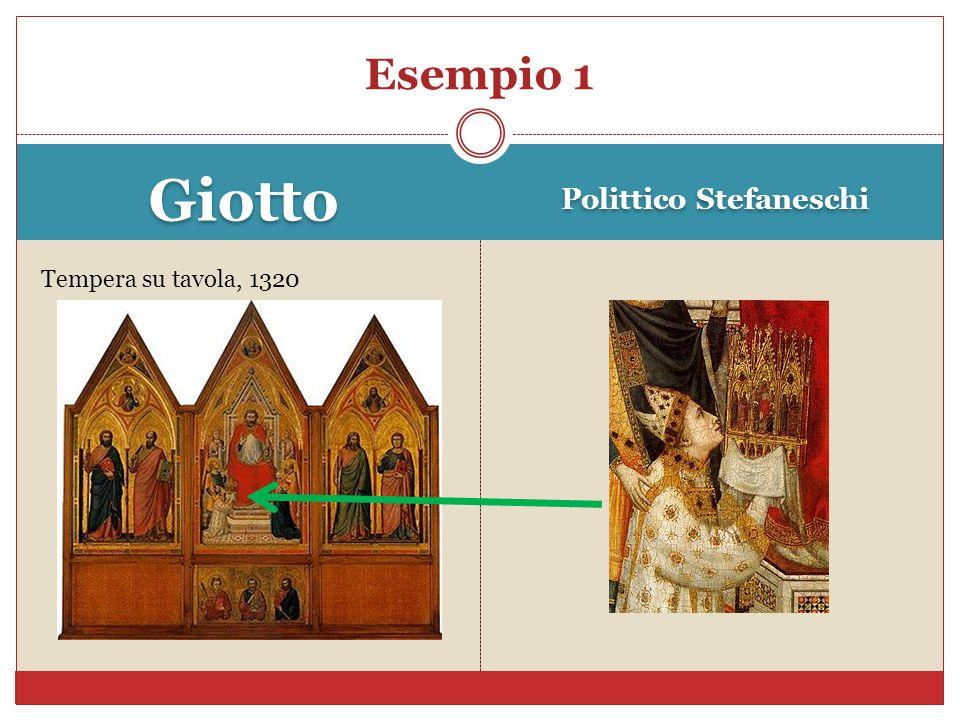 Giotto Polittico Stefaneschi Tempera su tavola, 1320 Esempio 1