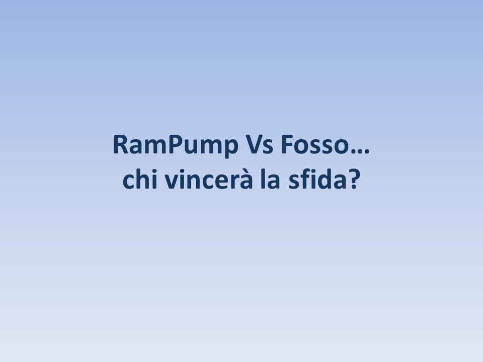 RamPump Vs Fosso… chi vincerà la sfida?
