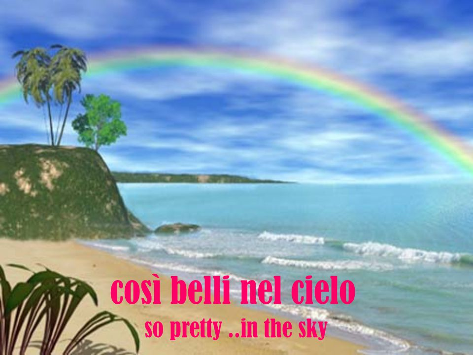 i colori dell arcobaleno the colors of a rainbow
