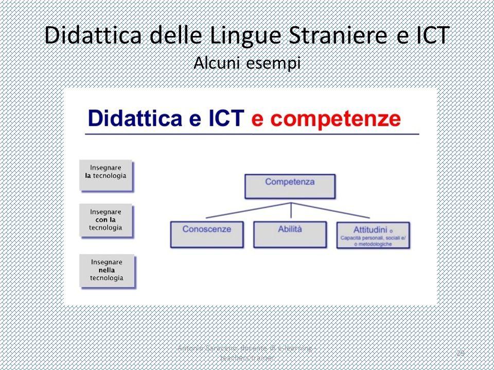 Didattica delle Lingue Straniere e ICT Alcuni esempi Antonio Saraceno, docente di e-learning - teachers'trainer 29