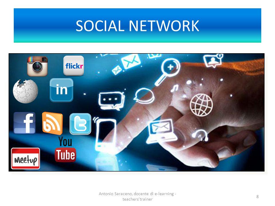 SOCIAL NETWORK Antonio Saraceno, docente di e-learning - teachers'trainer 8