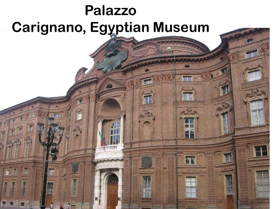 Palazzo Carignano, Egyptian Museum