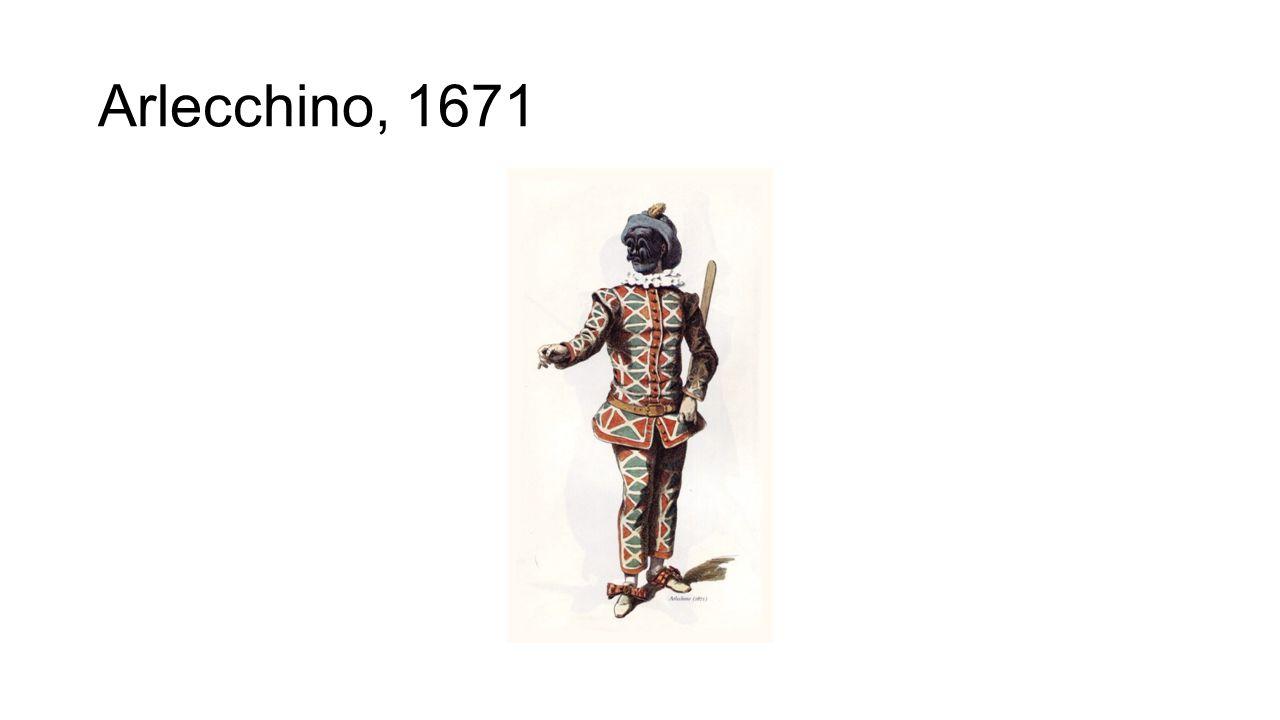 Arlecchino, 1671