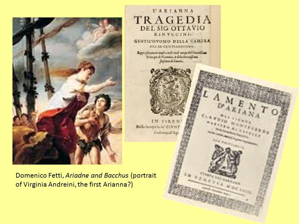 Domenico Fetti, Ariadne and Bacchus (portrait of Virginia Andreini, the first Arianna?)