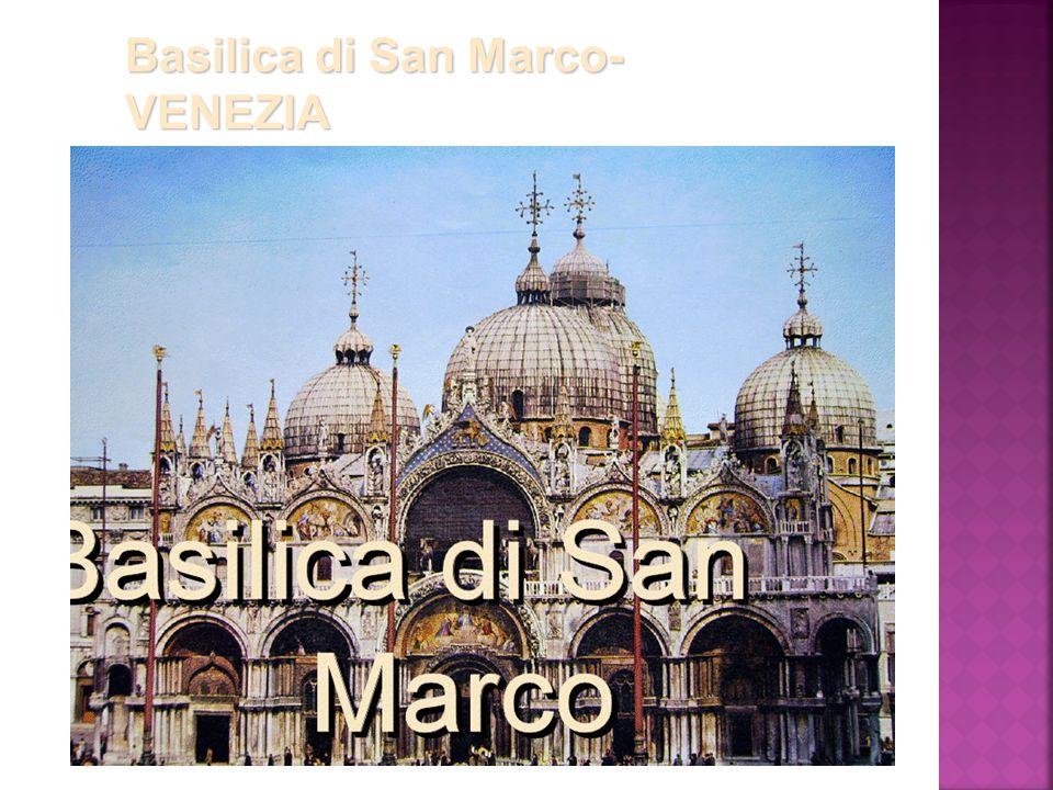 Basilica di San Marco- VENEZIA
