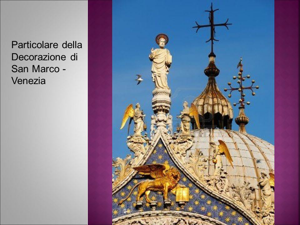 Particolare della Decorazione di San Marco - Venezia
