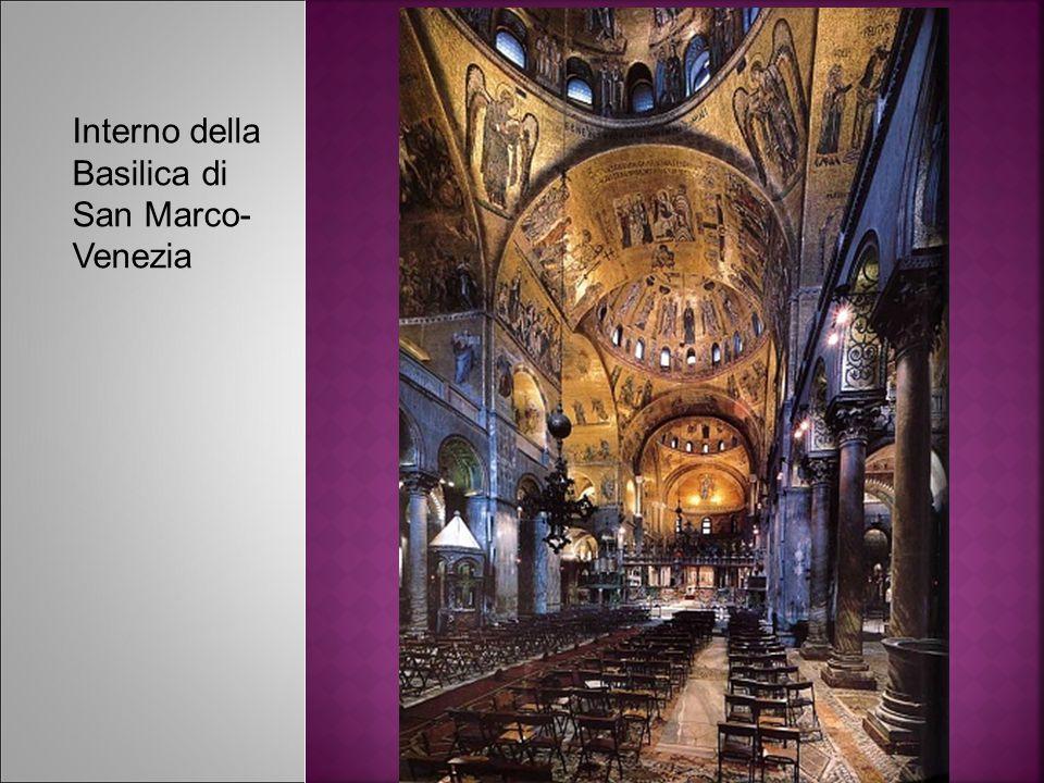 Interno della Basilica di San Marco- Venezia