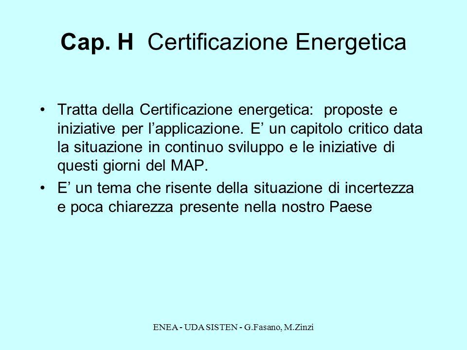 ENEA - UDA SISTEN - G.Fasano, M.Zinzi Cap.