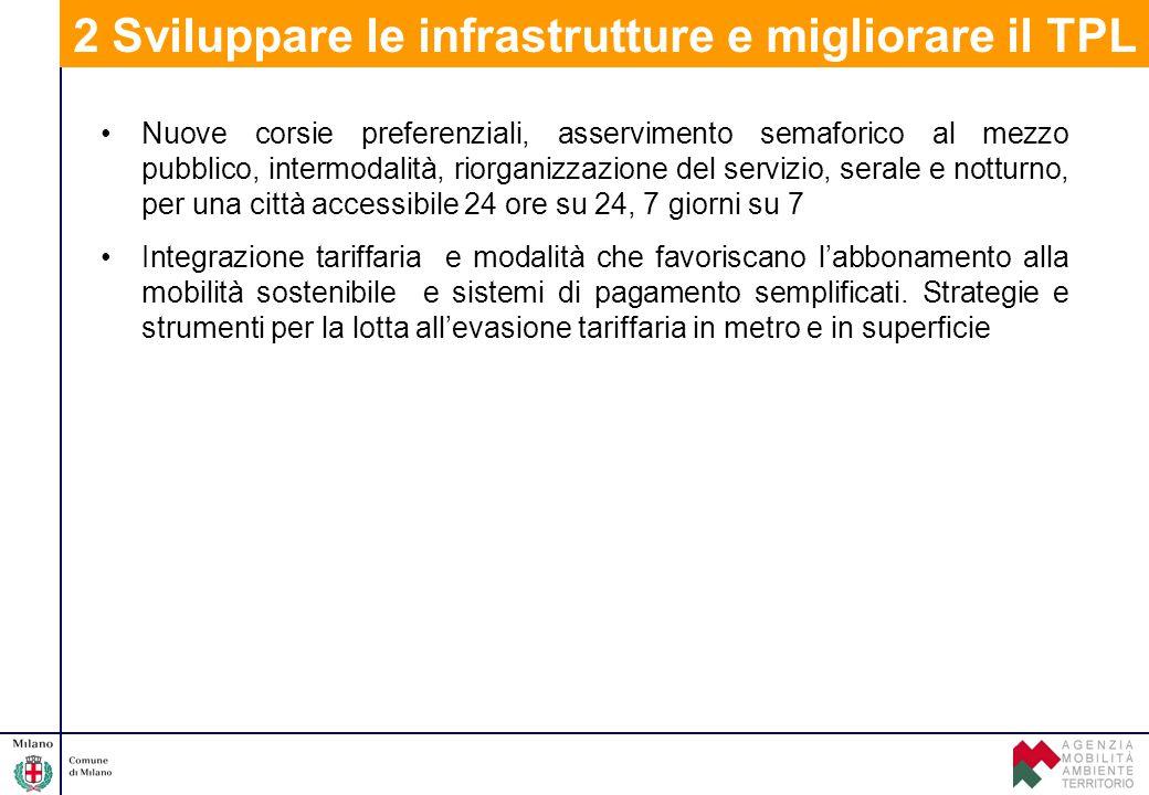 Nuove corsie preferenziali, asservimento semaforico al mezzo pubblico, intermodalità, riorganizzazione del servizio, serale e notturno, per una città