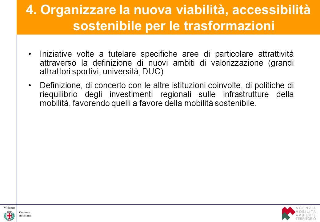 Iniziative volte a tutelare specifiche aree di particolare attrattività attraverso la definizione di nuovi ambiti di valorizzazione (grandi attrattori