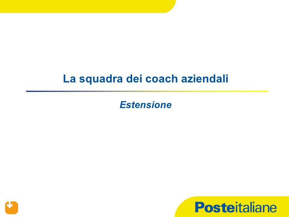 La squadra dei coach aziendali Estensione