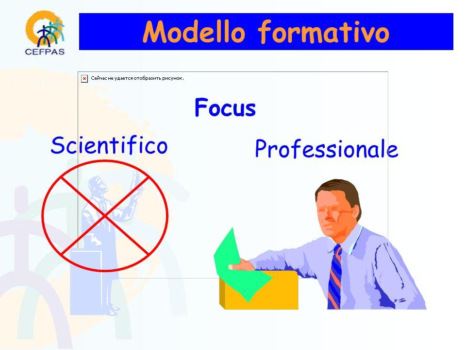 Modello formativo Scientifico Professionale Focus