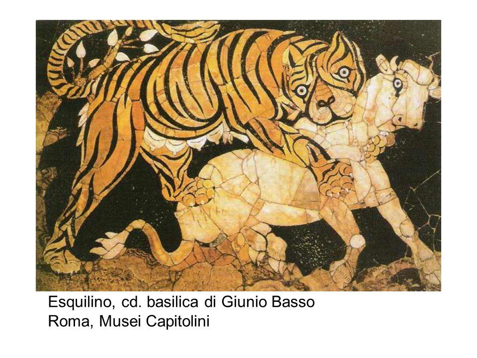 Esquilino, cd. basilica di Giunio Basso Roma, Musei Capitolini