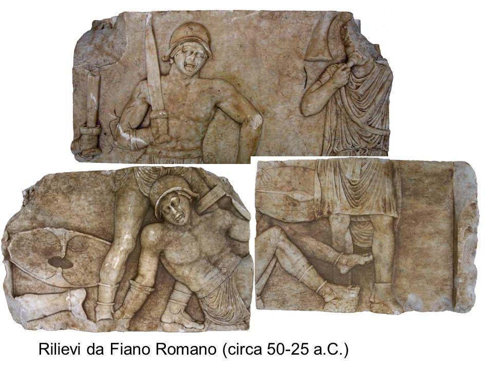 Rilievi da Fiano Romano (circa 50-25 a.C.)