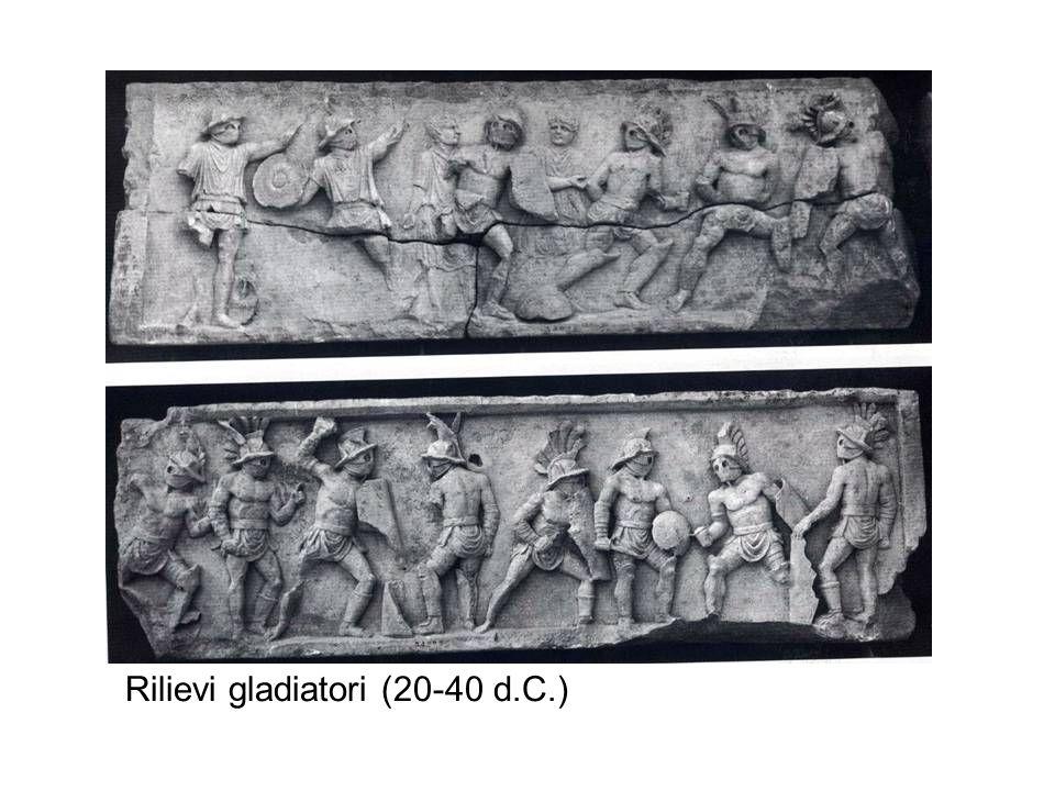 Rilievi gladiatori (20-40 d.C.)