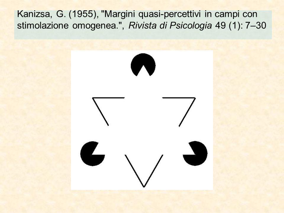 Kanizsa, G. (1955),