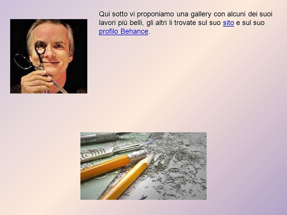 Qui sotto vi proponiamo una gallery con alcuni dei suoi lavori più belli, gli altri li trovate sul suo sito e sul suo profilo Behance.