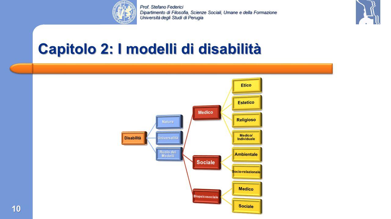 Prof. Stefano Federici Dipartimento di Filosofia, Scienze Sociali, Umane e della Formazione Università degli Studi di Perugia Tipi di Classificazioni: