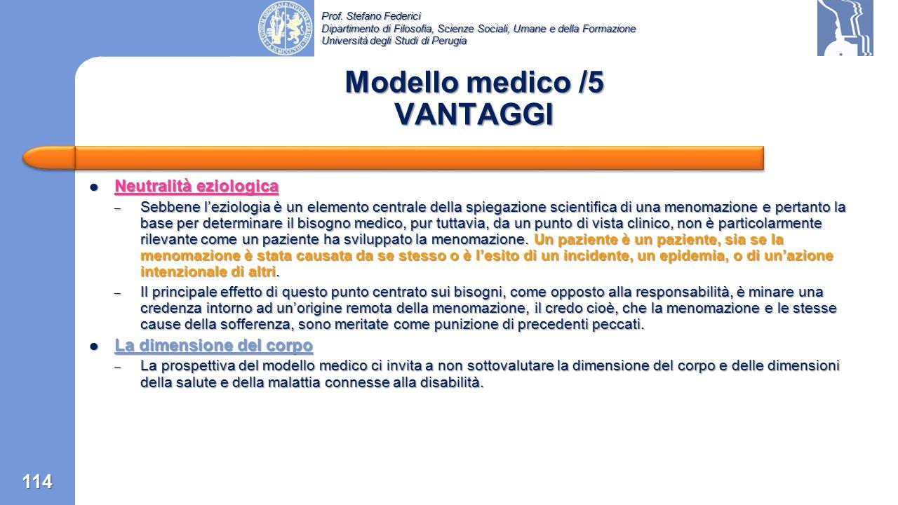 Prof. Stefano Federici Dipartimento di Filosofia, Scienze Sociali, Umane e della Formazione Università degli Studi di Perugia Ruolo sociale inappropri