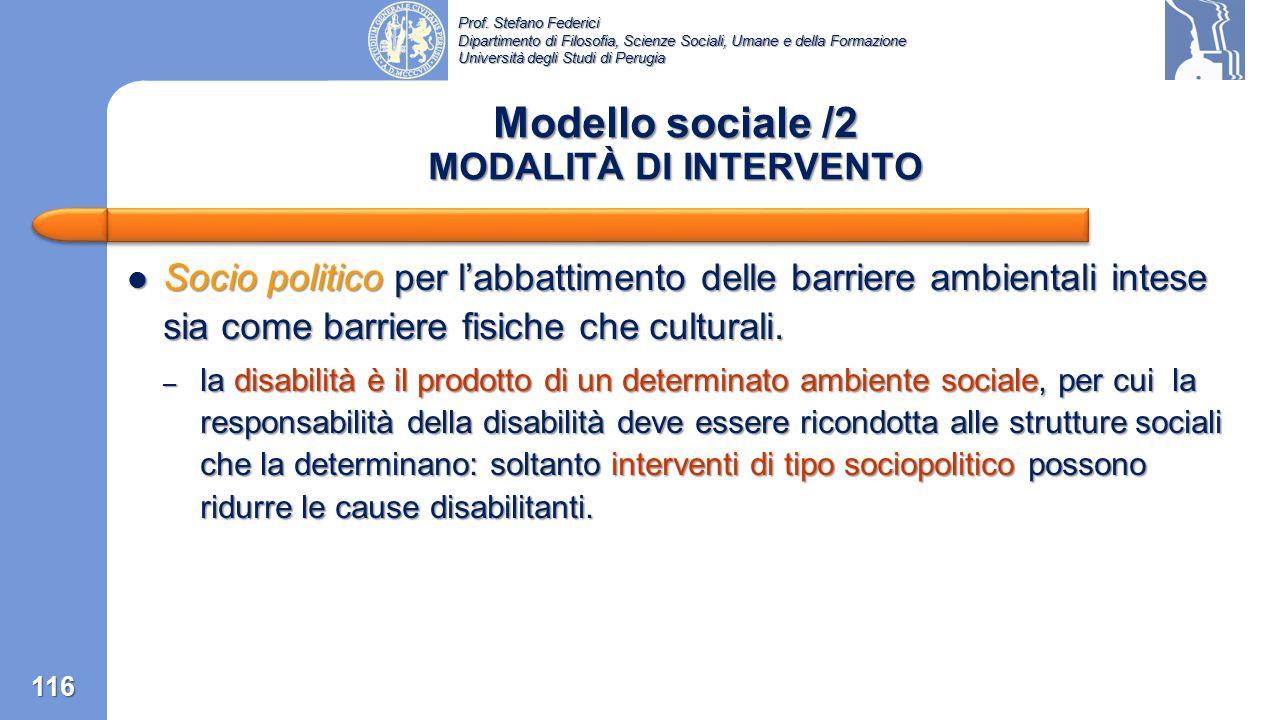 Prof. Stefano Federici Dipartimento di Filosofia, Scienze Sociali, Umane e della Formazione Università degli Studi di Perugia La disabilità è compresa