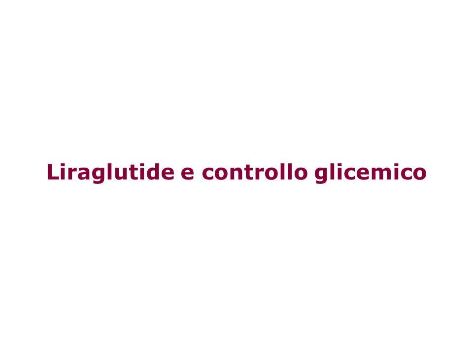 Liraglutide e controllo glicemico