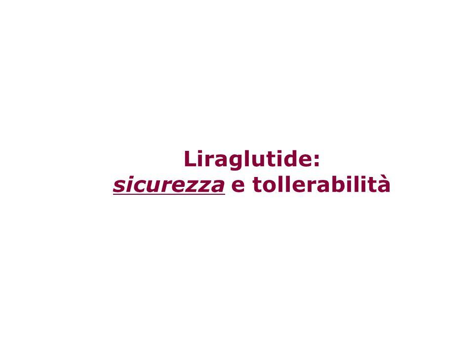 Liraglutide: sicurezza e tollerabilità
