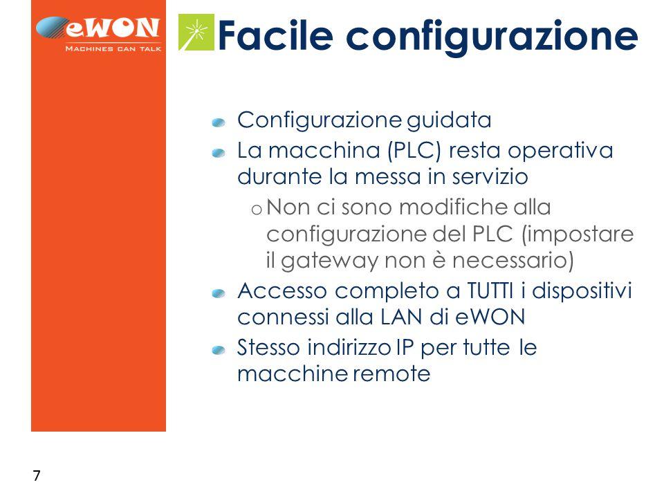 8 Facile configurazione Portale M2Web 1 2 Software eCatcher