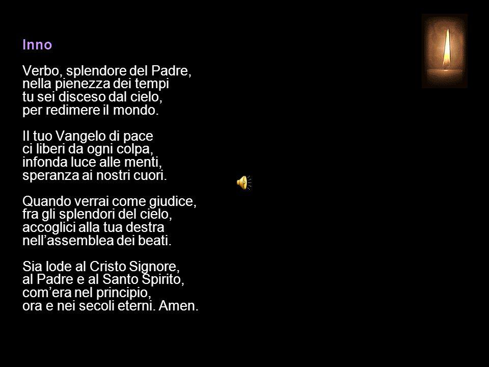 11 DICEMBRE 2014 GIOVEDÌ - II SETTIMANA DI AVVENTO UFFICIO DELLE LETTURE INVITATORIO V.