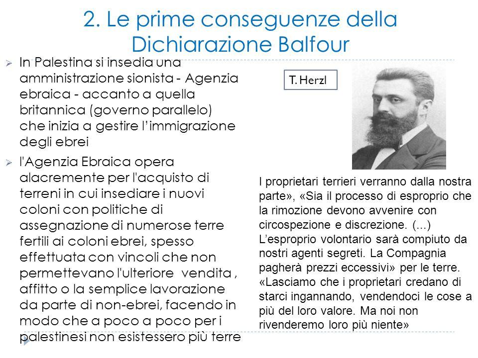 3. Gli accordi e i tentativi di pace