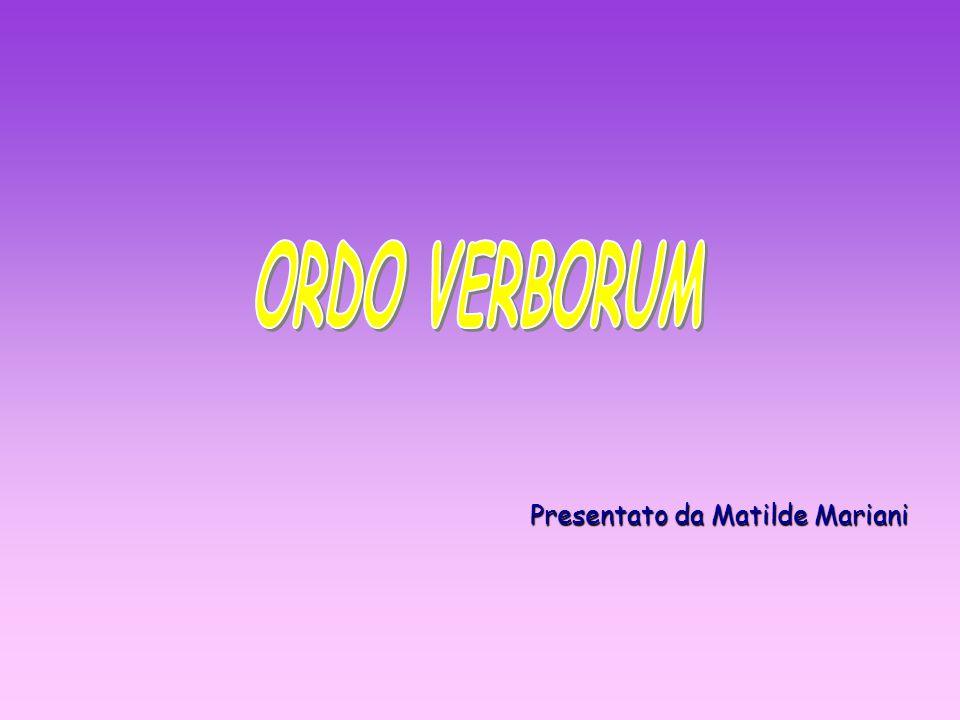 Presentato da Matilde Mariani
