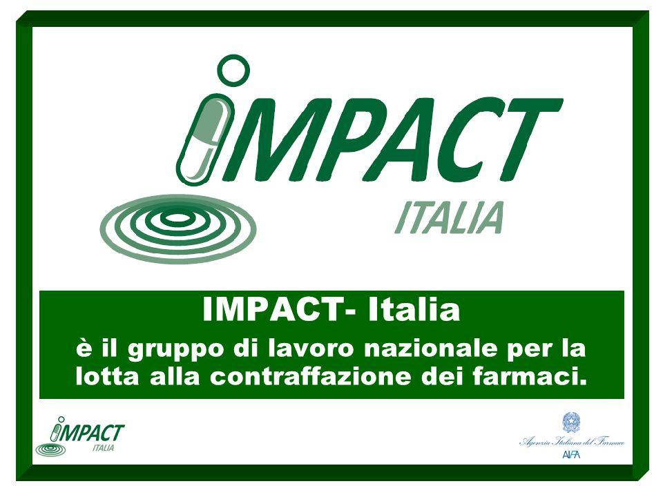 Tra gli obiettivi di IMPACT-Italia vi è la circolazione delle informazioni che scaturiscono sia dalla partecipazione diretta di alcuni suoi rappresentanti ad importanti iniziative internazionali del settore, sia dai risultati delle indagini su prodotti sospetti o illegali.