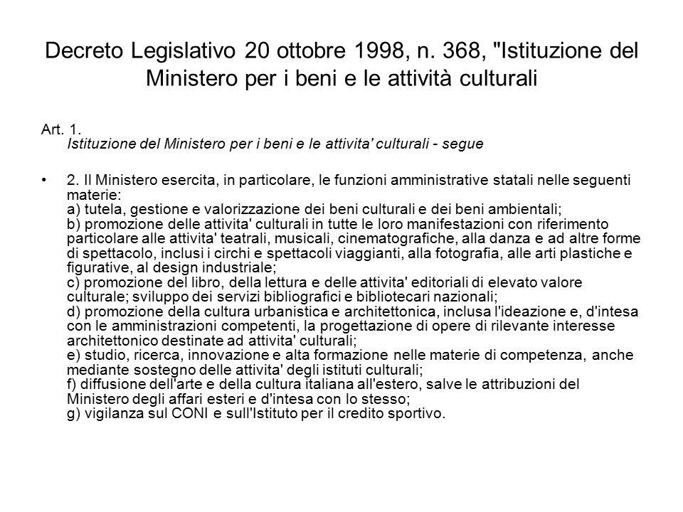 Decreto Legislativo 20 ottobre 1998, n.