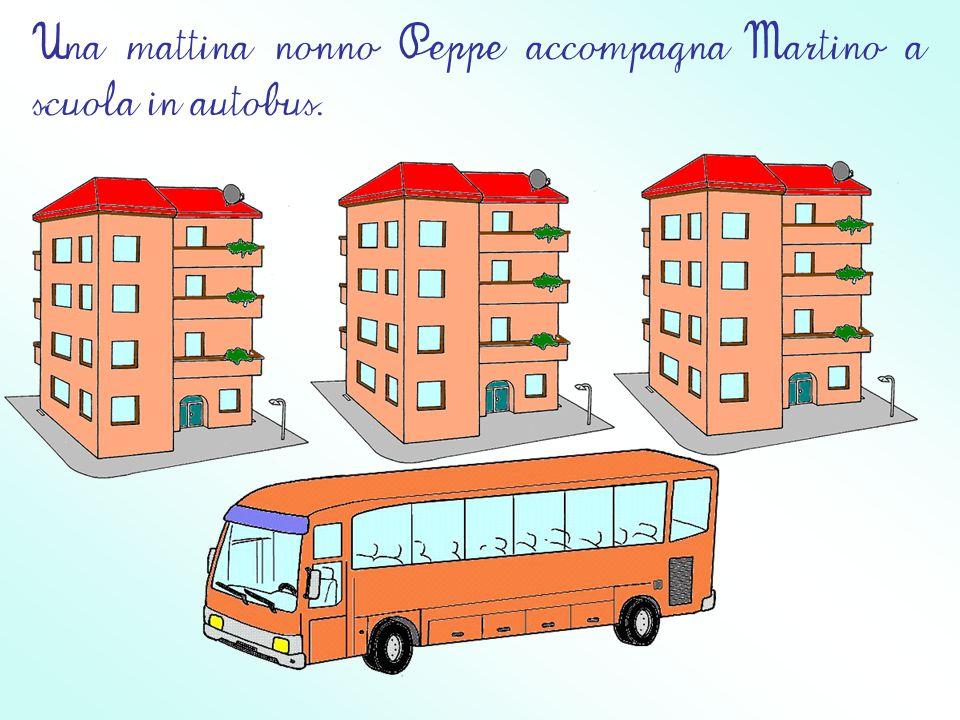 Martino, dopo le vacanze, torna a scuola per frequentare il suo ultimo anno nella Casa dei Bambini casa dei bambini